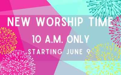 10 a.m. Worship