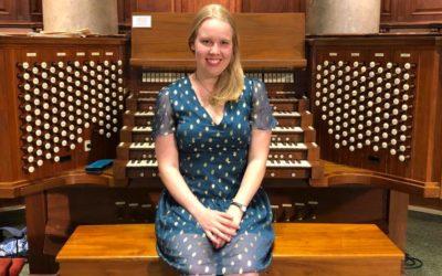 Samantha Scheff Performs French Organ Music