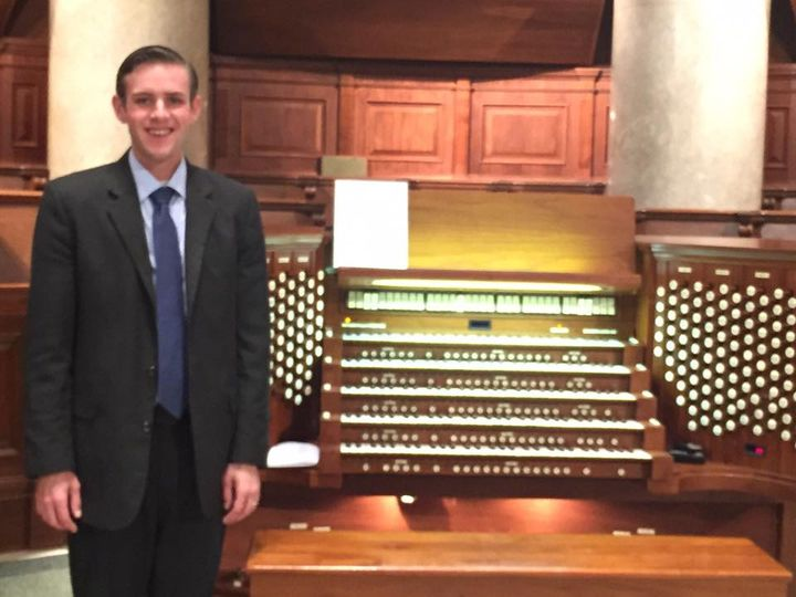 Organist Nicholas Will in Online Concert