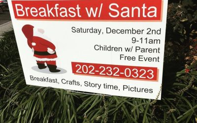 Come to Breakfast with Santa This Saturday, December 2