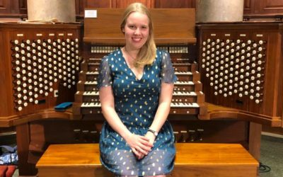 Samantha Scheff Performs French Organ Music