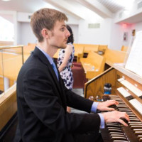 Organist Carter Stevens Performs on May 28